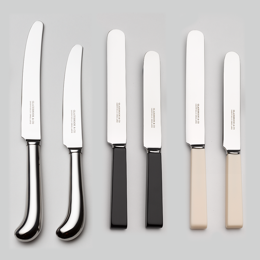 Alternative Knives Cream & New Black Handle Knives